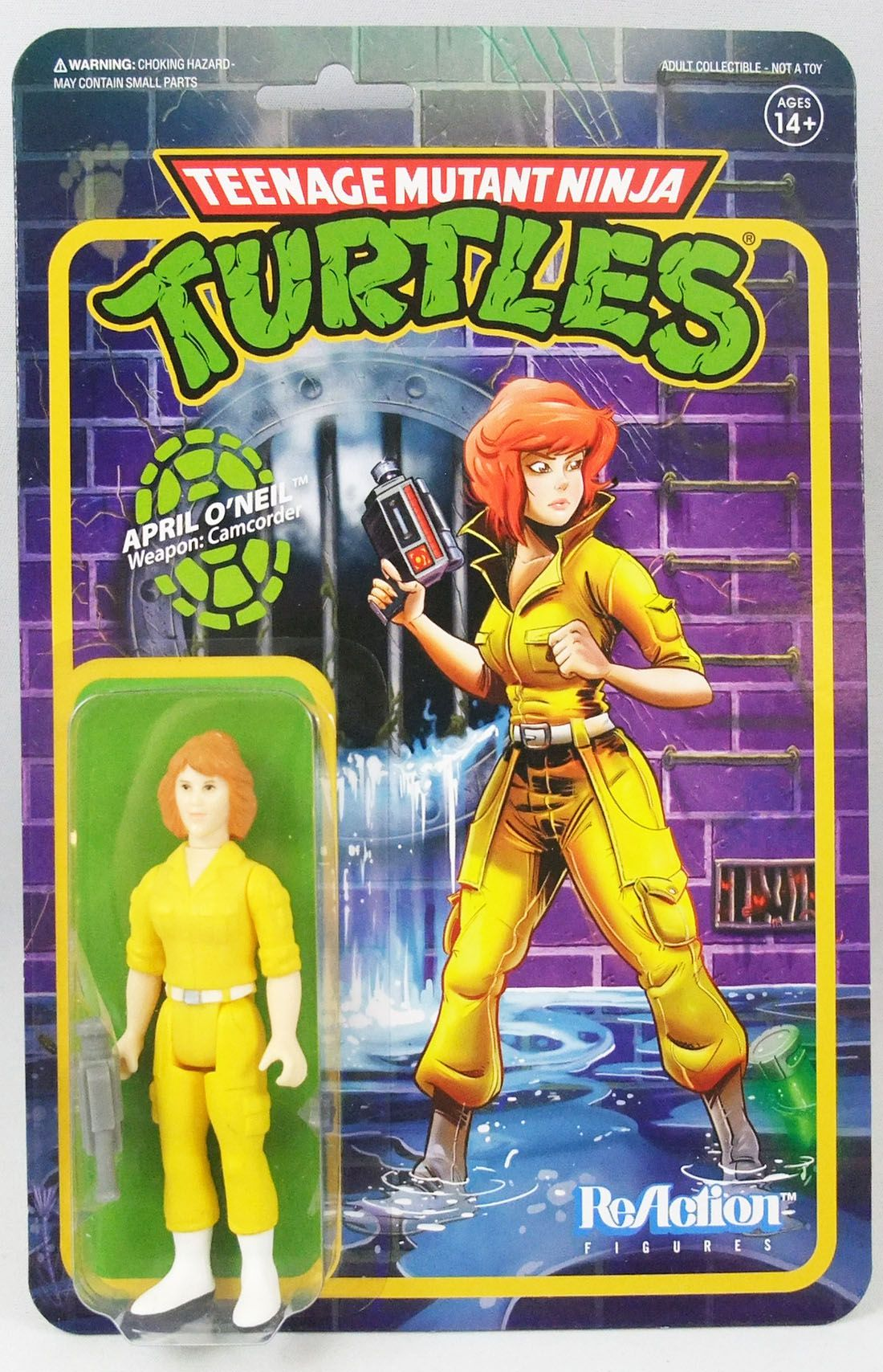 Teenage Mutant Ninja Turtles - Super7 ReAction Figures - April O\'Neil