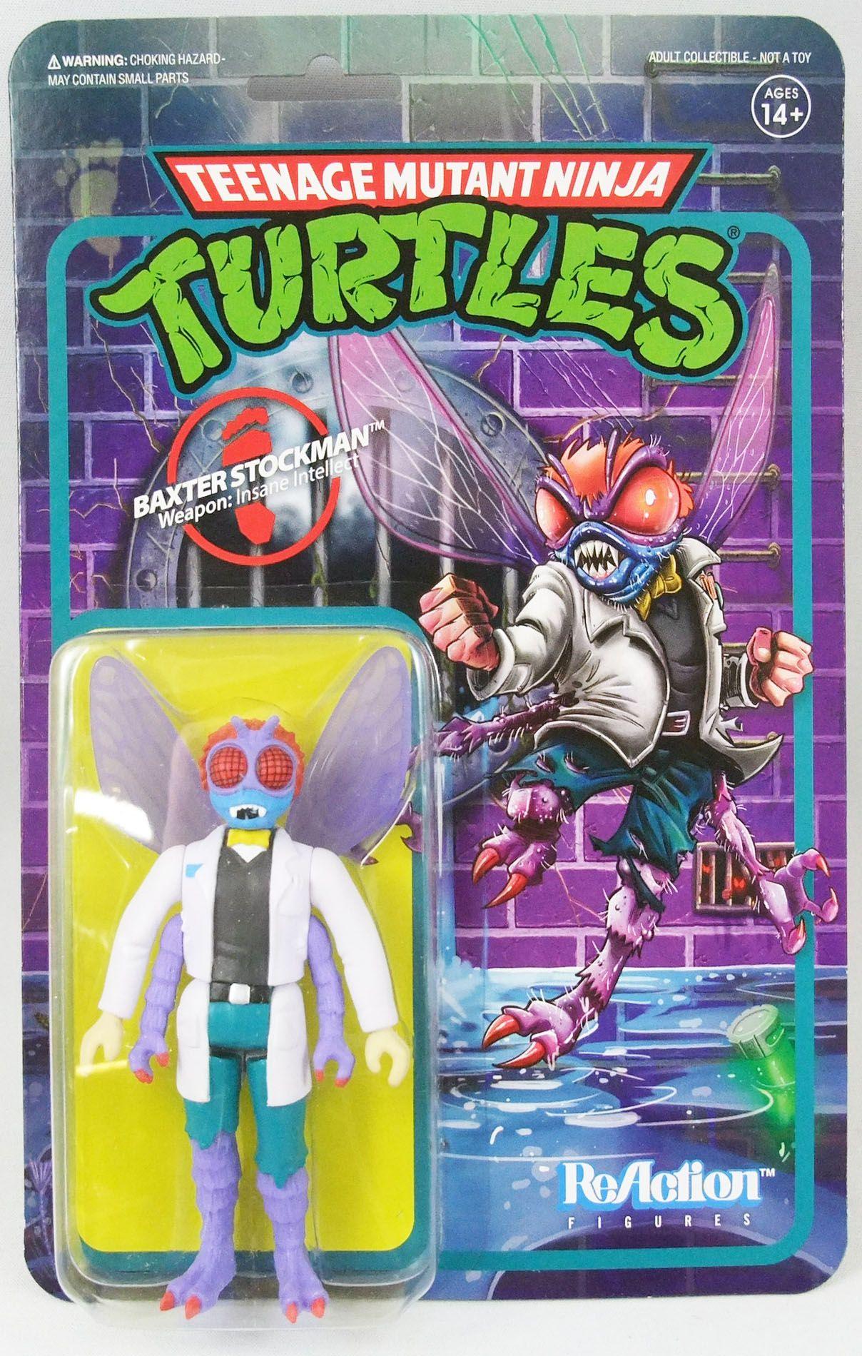 Teenage Mutant Ninja Turtles - Super7 ReAction Figures - Baxter Stockman