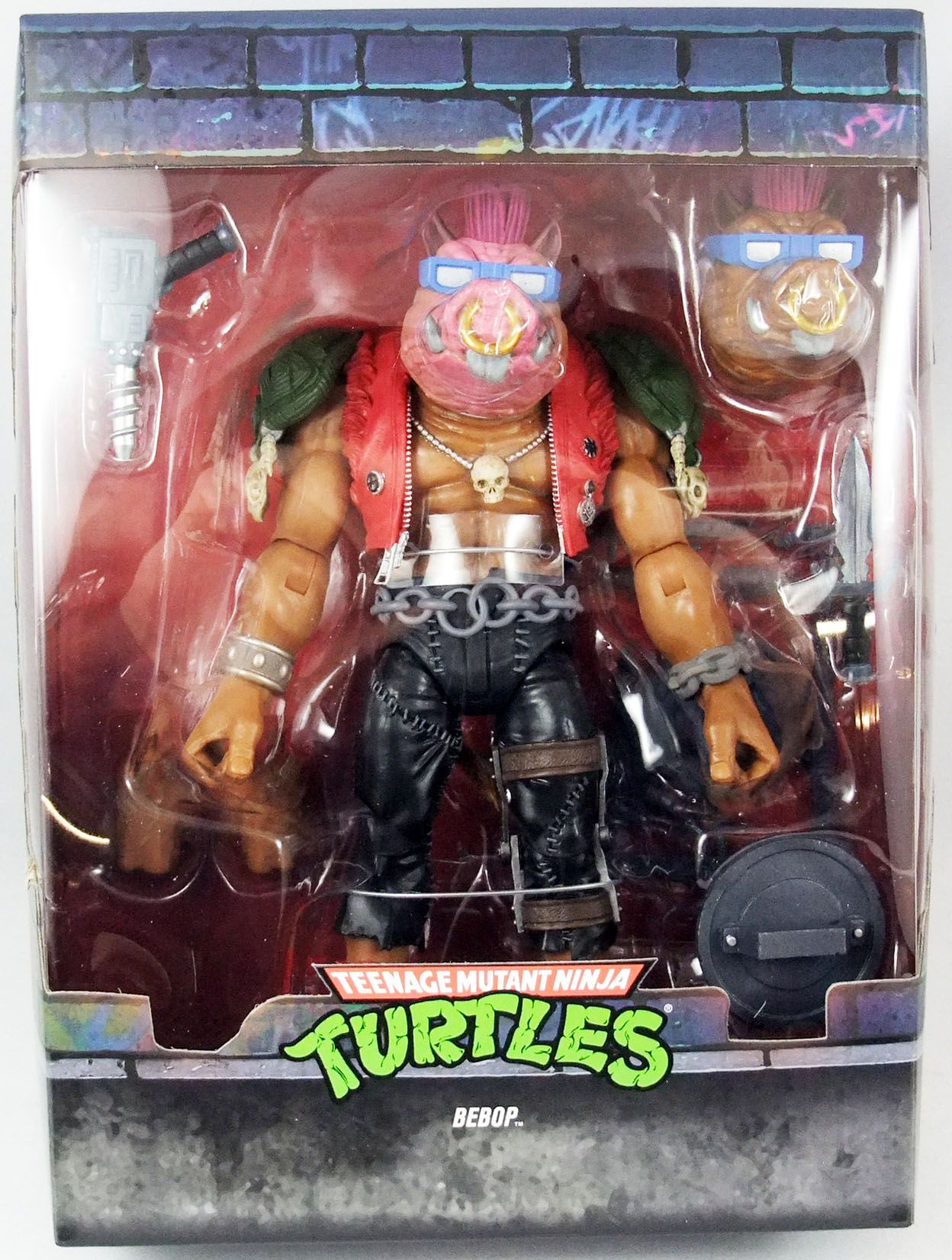 Teenage Mutant Ninja Turtles - Super7 Ultimates Figures - Bebop