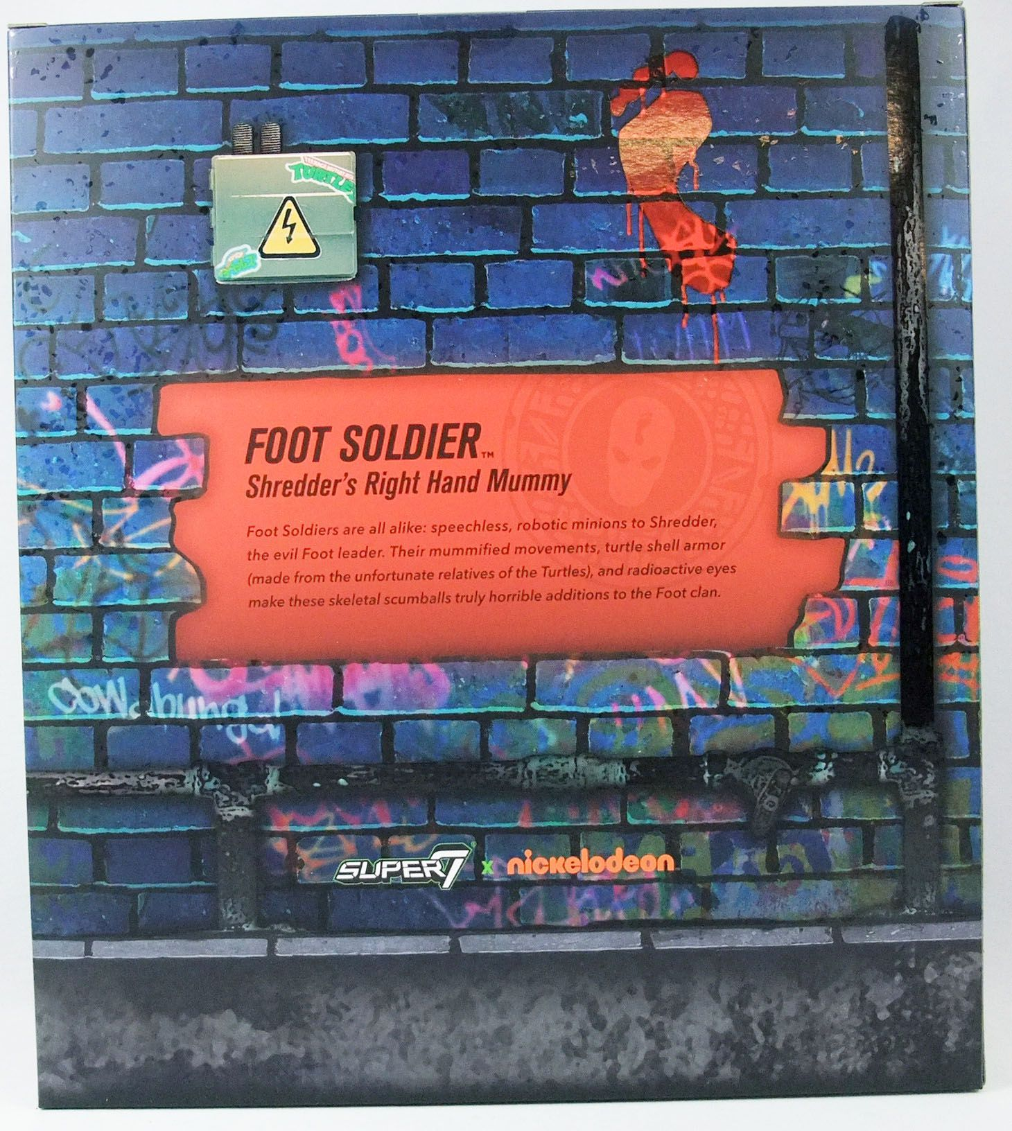 Teenage Mutant Ninja Turtles - Super7 Ultimates Figures - Foot Soldier