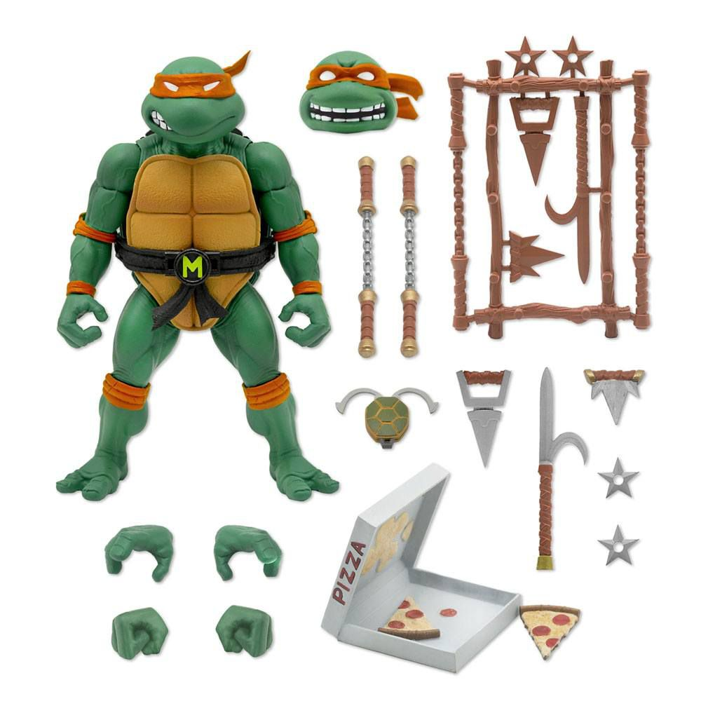 Teenage Mutant Ninja Turtles - Super7 Ultimates Figures - Michelangelo