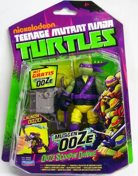 Teenage Mutant Ninja Turtles (Nickelodeon) - Ooze Scoopin\' Donnie