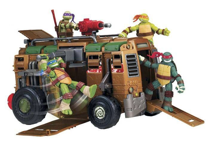 Teenage Mutant Ninja Turtles (Nickelodeon) - Shellraiser Van
