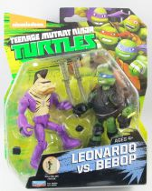 Teenage Mutant Ninja Turtles (Nickelodeon 2012) - Leonardo vs. Bebop