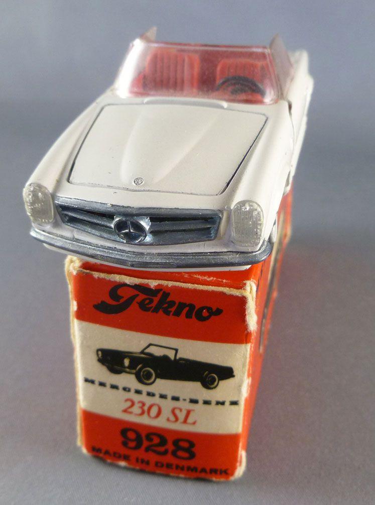 Tekno 928 Mercedes 230 Sl Cabriolet avec Boite