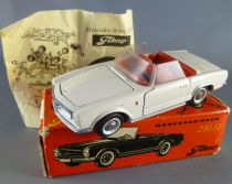 Tekno 928 White 230 Sl Mercedes with Box