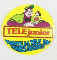 TELE Junior - Autocollant Promotionnel (1977)