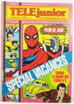 TELE Junior - Magazine Mensuel n°40 (Août 1980)