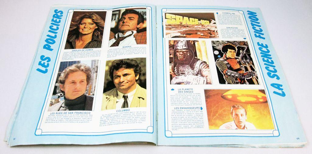 """TELE Junior - Stickers collector album \""""Les Stars de la Télé\"""""""