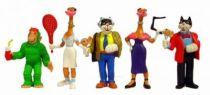 Téléchat - Set of 5 PVC figures Comic Spain