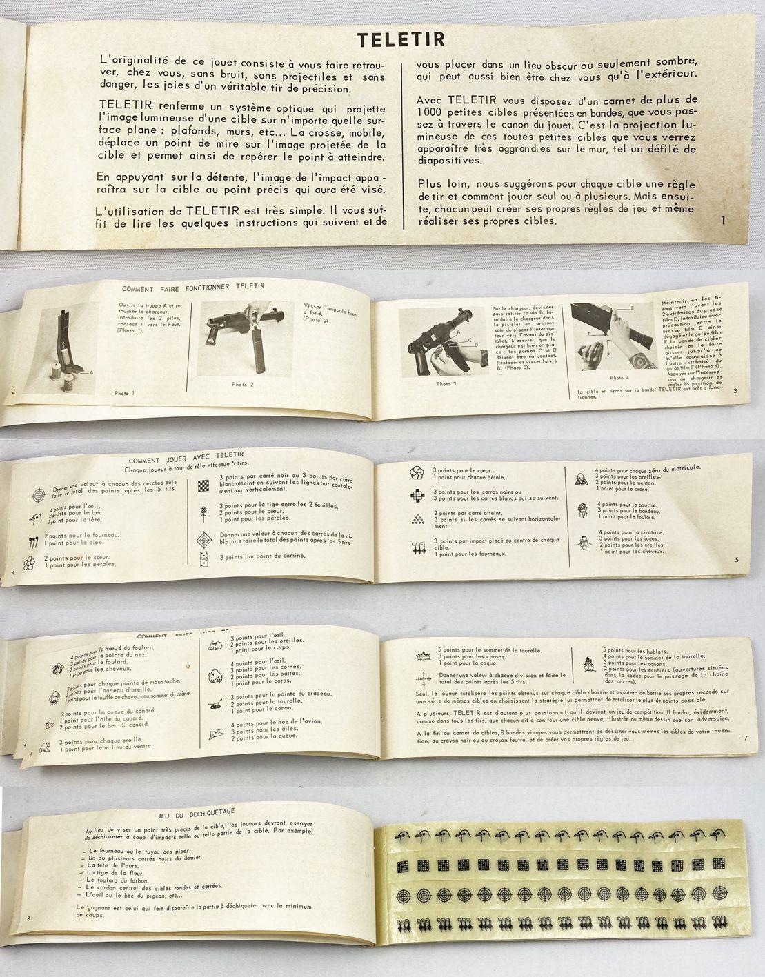 TéléTir 1000 Cibles - JR (Jouets Rationnels) 1972