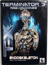 Termiantor 3 - T-X Endoskeleton mini-bust - Gentle Giant