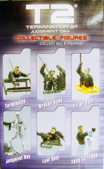 Terminator 2 - Collectible Figures - T800 vsT1000 (N&B)