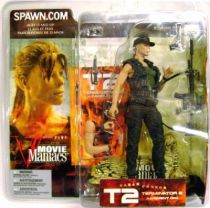 Terminator 2 - Sarah Connor (variant) - Movie Maniacs 5 (loose)