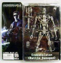 Terminator 2 - T-800 Battle Damaged Endoskeleton (with Plasma Cannon) - Neca