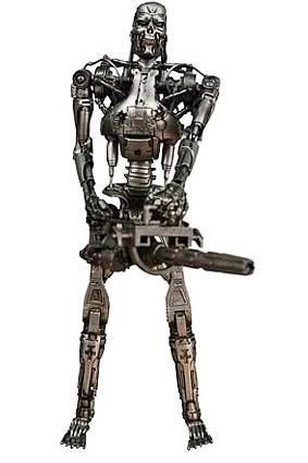 Terminator 2 - T-800 Battle Damaged Endoskeleton (with Plasma Cannon) - Neca