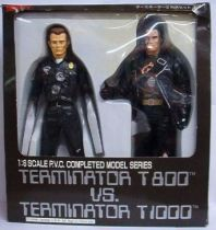 Terminator 2 - T-800 vs T-1000 Mint in box 12 inches Tsukuda
