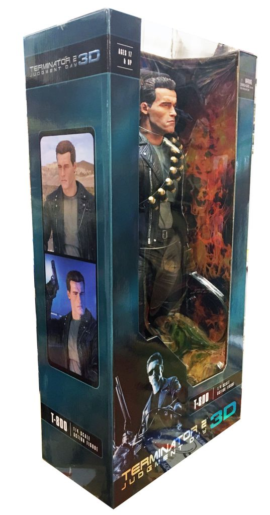 Terminator 2 Judgment Day 3D - T-800 1/4 Scale (18inch) - Neca