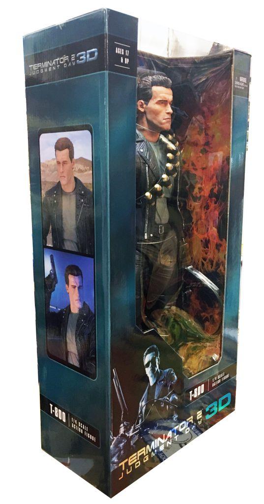 Terminator 2 Judgment Day 3D - T-800 1/4 Scale (45cm) - Neca