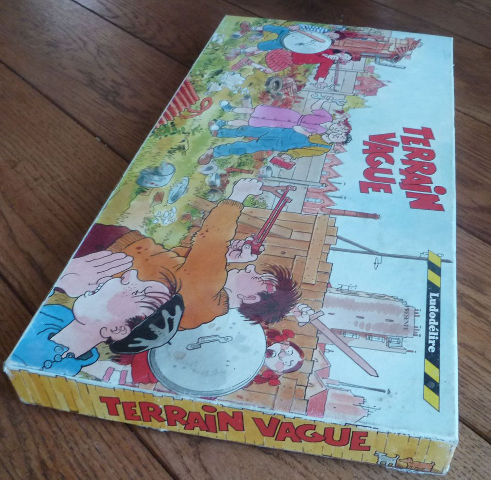 Terrain Vague - Board Game - Ludodélire 1994 Illustrated by Tardi