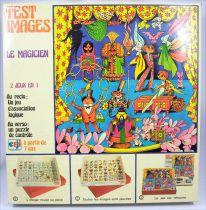 Test Images Le Magicien - Jeu de société - Ceji Compagnie du Jouet 1972