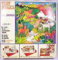 Test Images Les Animaux - Jeu de société - Ceji Compagnie du Jouet 1972
