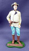 Tex Willer - Hachette resin statue - Quantrell