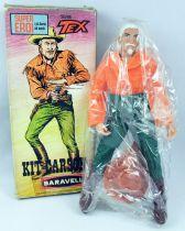 Tex Willer - Mego - Kit Carson - Figurine articulée 20cm - Baravelli Italie 1971