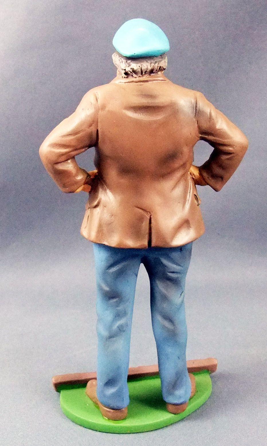 Tex Willer - Statuette résine Hachette - Capitaine Barbanera