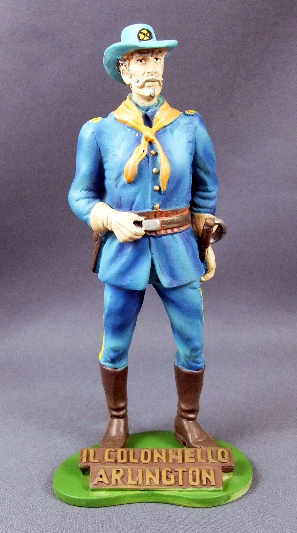 Tex Willer - Statuette résine Hachette - Colonel Arlington