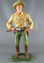 Tex Willer - Statuette résine Hachette - Kit Carson