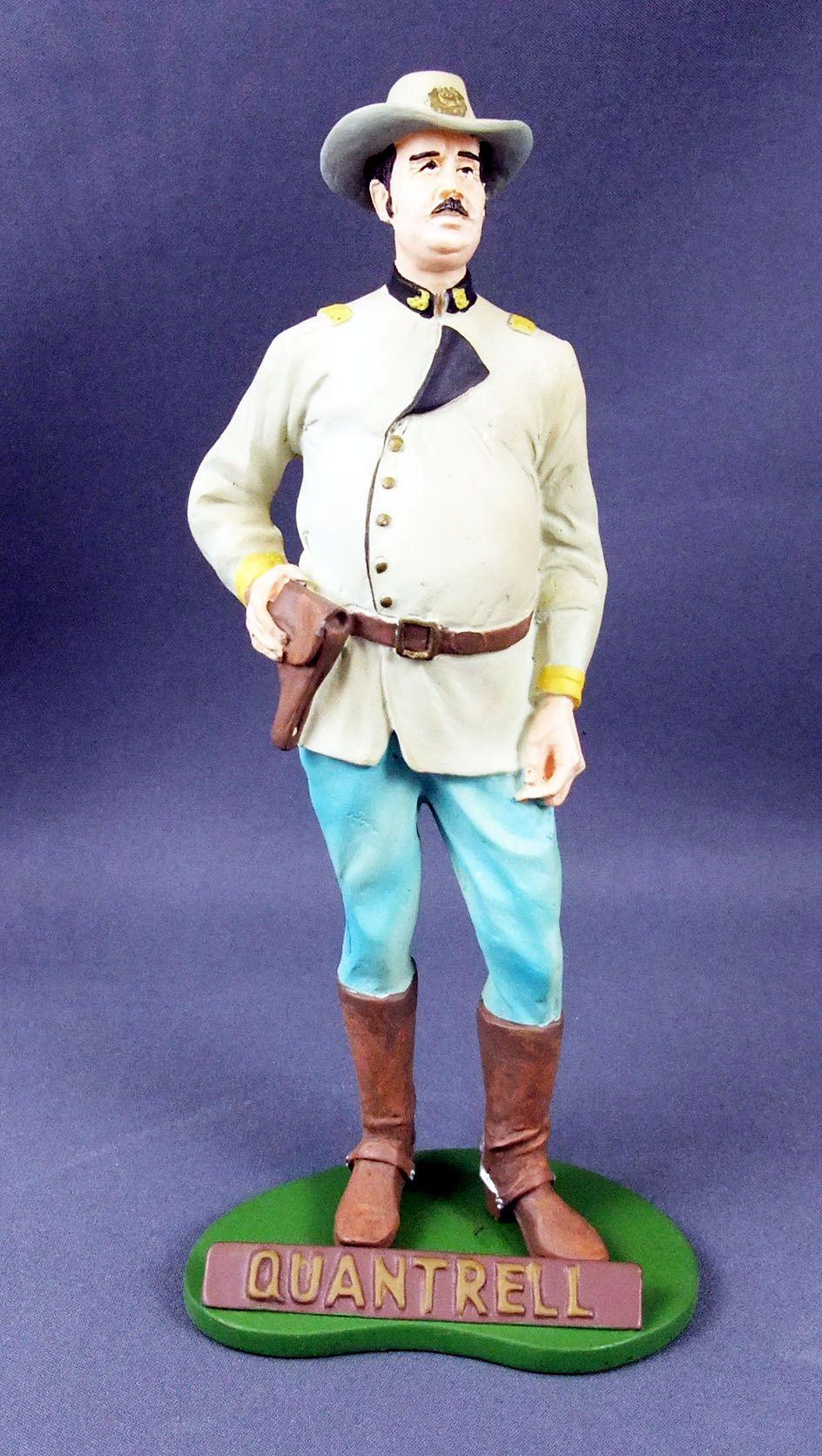 Tex Willer - Statuette résine Hachette - Quantrell