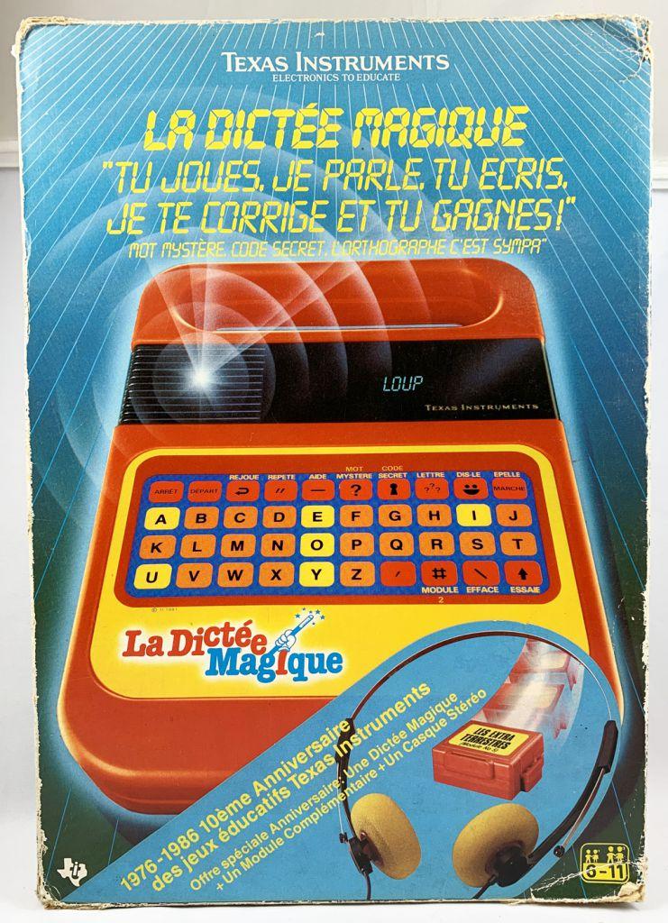 Texas Instruments - La Dictée Magique (en boite 10ème Anniversaire))