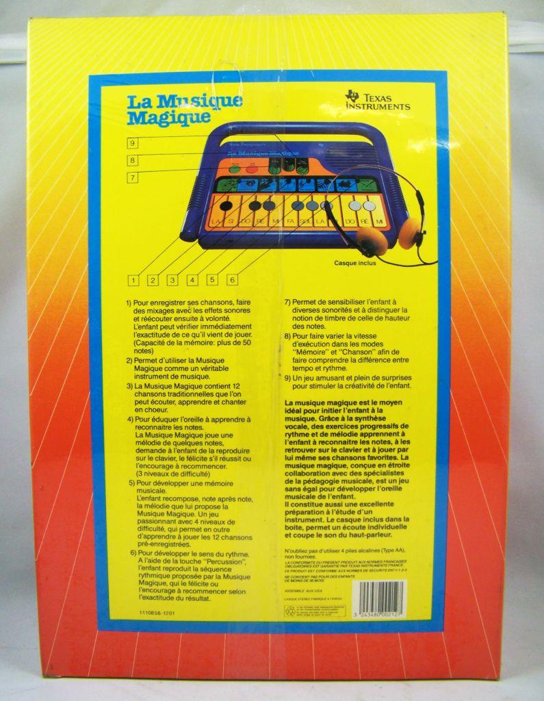 Texas Instruments - La Musique Magique 1988 (neuve en boite) 04