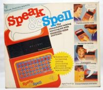 Texas Instruments - Speak & Spell (La Dictée Magique) 1978 occasion en boite
