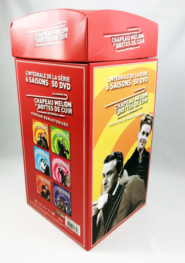 The  Avengers - Collector Set 6 Saisons 50 DVD Remasterized - Studio Canal 2009