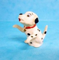 The 101 dalmatians - Jim figure - Baby seating arms up (red collar)