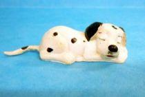 The 101 dalmatians - Jim figure - Baby sleeping (red collar)
