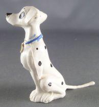 The 101 dalmatians - Jim figure - Perdita seatting (blue collar)