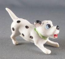 The 101 dalmatians - Jim figure - Puppy ready to jump (green collar)