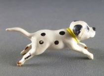 The 101 dalmatians - Jim figure - Puppy runing (yellow collar)