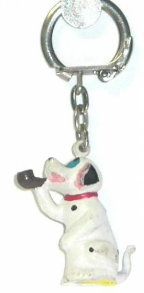 The 101 dalmatians - Jim Keychain - Baby smocking (red collar)