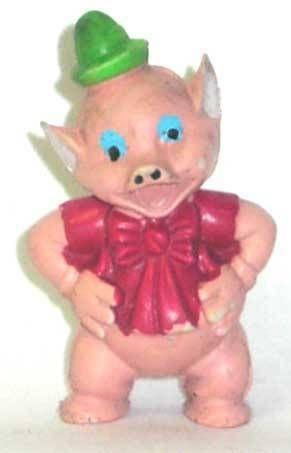 The 3 Little Pigs - Heimo pvc figure - Pig flautist
