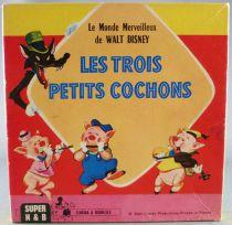 The 3 Little Pigs - Super 8 Movie B&W Disney - The 3 Little Pigs