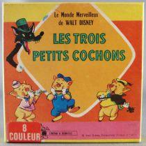 The 3 Little Pigs - Super 8 Movie Color 15m Disney - The 3 Little Pigs