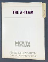 The A-TEAM -  MCA TV International Press Information (1984)