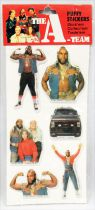 The A-Team - Puffy Stickers set - Larami 1983