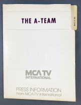 The A-Team (L\'Agence Tout Risque) - Dossier de Presse (Press Information) MCA TV International (1983)