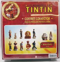 The Adventures of Tintin - Boxed gift-set of 12 porcelain bean-figures