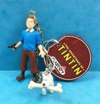 The Adventures of Tintin - Keychain Plastoy - Tintin & Snowy